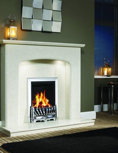 BeModern 48 Viola Fireplace