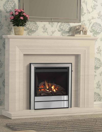 Elgin-&-Hall-52-Vitalia-Limestone-Fireplace-With-Lights